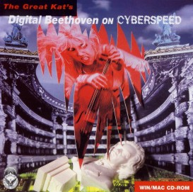 """DIGITAL BEETHOVEN ON CYBERSPEED"" CD-ROM!"