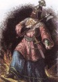 "Attila the Hun was an infamous, vicious barbarian King who attacked the Roman Empire and was so fierce he was named ""THE SCOURGE OF GOD""!"