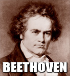 "LUDWIG VAN BEETHOVEN-The GREATEST COMPOSER in HISTORY. The Greatest Composition in Musical History, Beethoven's SYMPHONY #9 ""THE CHORAL"" (1824) was composed when he was TOTALLY DEAF!"