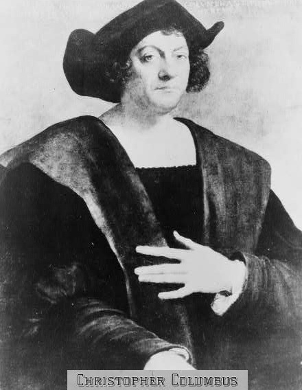 CHRISTOPHER COLUMBUS 1451-1506 - ITALIAN EXPLORER WHO DISCOVERED AMERICA ON OCTOBER 12, 1492!