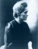 HAPPY 143rd BIRTHDAY MADAME CURIE!! BORN NOV. 7, 1867!! (1867-1934)MADAME MARIE CURIE was one of the FIRST WOMAN scientists. She discovered radium and paved the way to nuclear physics and cancer therapy. Madame Curie fought chauvinism, prejudices, sexism and plain stupidity of those who tried to stop her advancements in science.