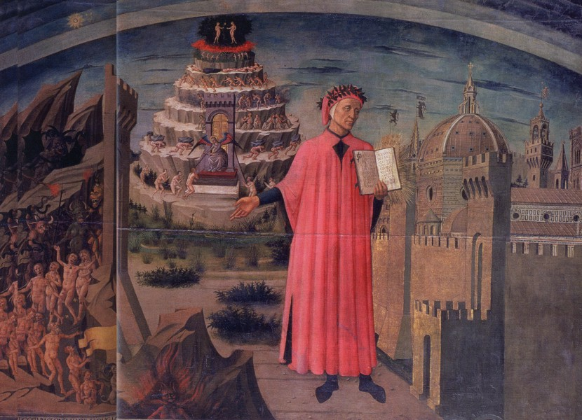 the journey of dante to hell in dante alighieris inferno Plot overview inferno opens on the evening of good friday in the year 1300 traveling through a dark wood, dante alighieri has lost his path and now wanders fearfully through the forest.