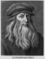 "LEONARDO DA VINCI, brilliant painter, inventor, musician, engineer, sculptor, architect and scientist. The prototype of the ""RENAISSANCE MAN"", da Vinci painted the masterpieces ""MONA LISA"" and ""THE LAST SUPPER"" and wrote notebooks in his own code of mirror (backwards) writing, which kept his ideas and inventions secret."