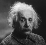 "HAPPY 134th BIRTHDAY ALBERT EINSTEIN! (1879-1955) Born on March 14, 1879 in Germany. Physicist/Creator of the Theory of Relativity/E=mc2. ""At a very distant date in the future, the average mind may surpass that of Galileo"" -Einstein"