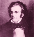 "FRANZ SCHUBERT, Romantic composer/starving artist, composed hundreds of songs for voice and piano, nine symphonies including the famous ""UNFINISHED SYMPHONY"", died in poverty and managed to get buried next to his hero BEETHOVEN, all by the age of 31!"