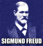 "SIGMUND FREUD, Austrian Neurologist & Psychiatrist, Founder of Psychoanalysis, Creator of the ""Oedipus Complex"", the ""Id"", the ""Superego"" and one of the Greatest Thinkers of the 20th Century! The famous ""FREUDIAN SLIP"" was named after him!"