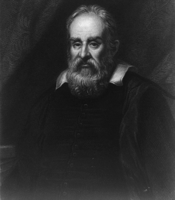 GALILEO GALILEI was one of the world's greatest scientific pioneers. He was an inventor, astronomer and a REBEL, who angered the ROMAN CATHOLIC CHURCH by claiming the Earth is NOT the central point of the universe, which the Church claimed it was.
