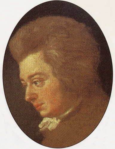 MOZART: By the age of 10, Mozart was a famous &quot;Wunderkind&quot; prodigy composer/performer. He died when he was only 35 years old, after being commissioned to compose a Requiem Mass (music for the dead) from a mysterious stranger, which Mozart misinterpreted as a pronouncement of his own death.