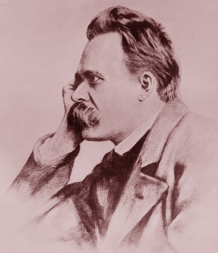 "Friedrich Nietzsche, famous German Philosopher who went insane at 45 years old and said ""WHAT DOESN'T KILL US MAKES US STRONGER."" Nietzsche declared that ""GOD IS DEAD"", opposed Christianity and believed in the concept of ""WILL TO POWER"" and ""SUPERMAN"": the ideal human who can channel passions into creativity and who is superior to the moron masses."