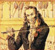 GENIUS FACT: Paganini, demonic virtuoso violinist, suffered from the disorder &quot;Ehlers-Danlos&quot;- which allowed him more joint mobility in his fingers. He encouraged people to think that he WAS POSSESSED BY THE DEVIL.