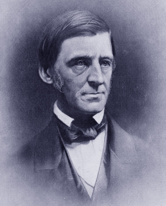 "RALPH WALDO EMERSON, Essayist, Poet, Lecturer, Philosopher, FOUNDER of ""TRANSCENDENTALISM"" and The ""SAGE OF CONCORD"", who famously wrote ""IF WE ARE RELATED, WE SHALL MEET"" and refers to the Greek verse  'The Gods are to each other not unknown."""