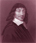 "RENE DESCARTES, GENIUS French Mathematician, Writer, Academic, Scientist and FATHER OF MODERN PHILOSOPHY who FAMOUSLY DECLARED ""I THINK, THEREFORE I AM""!"