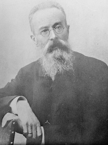 "RIMSKY-KORSAKOV was a brilliant RUSSIAN COMPOSER/NATIONALIST, Naval Officer, and composer of the famous ""THE FLIGHT OF THE BUMBLE-BEE"" from ""The Tale Of Tsar Saltan""!"