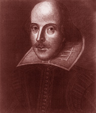 "HAPPY 450th BIRTHDAY SHAKESPEARE! (1564-1616)  Born on April 23, 1564 in Stratford-upon-Avon, England. Shakespeare, the GREATEST PLAYWRIGHT and DRAMATIST in History, wrote such GENIUS masterpieces as ""HAMLET"", ""ROMEO AND JULIET"" and ""MACBETH""!"
