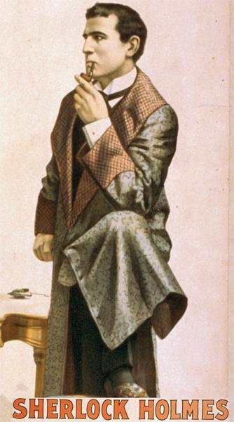 SHERLOCK HOLMES, Famous Fictional Detective by Sir Arthur Conan Doyle/Violinist.