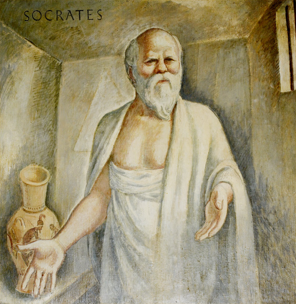 "Socrates was a Greek philosopher and teacher and one of the most original, influential and CONTROVERSIAL people in ancient Greek philosophy and Western ideas. ""I know nothing except the fact of my ignorance."" - Socrates"
