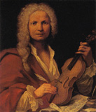 "ANTONIO VIVALDI, Baroque Classical Composer who was known as the ""RED PRIEST"" and was buried in a pauper's grave."