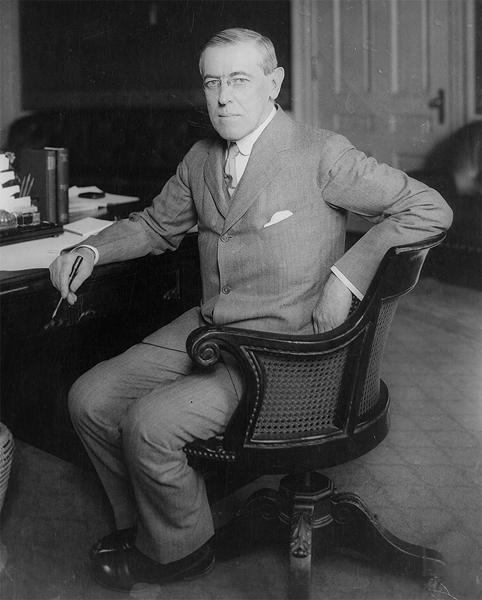WOODROW WILSON, World War I President/Violinist.