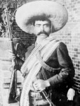 "HAPPY 131st BIRTHDAY EMILIANO ZAPATA! Emiliano Zapata was born on Aug. 8, 1879 in Anenecuilco, Mexico. ZAPATA, the famous Mexican REVOLUTIONARY and rebel leader, who led the Mexican Revolution, was called ""THE ATTILA OF THE SOUTH"", was AMBUSHED and ASSASSINATED at the age of 40 and believed ""IT IS BETTER TO DIE ON YOUR FEET THAN LIVE ON YOUR KNEES."""