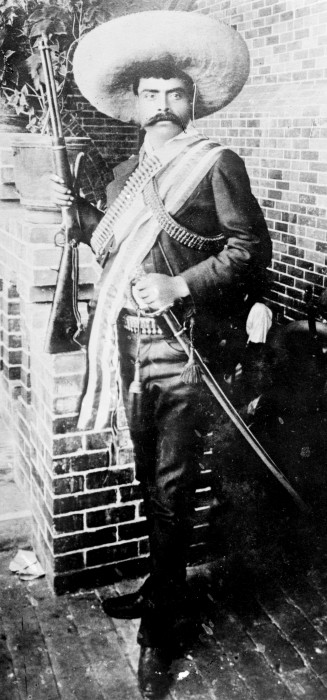 "EMILIANO ZAPATA, the  famous Mexican REVOLUTIONARY and rebel leader, who led the Mexican Revolution, was called ""THE ATTILA OF THE SOUTH"", was AMBUSHED and ASSASSINATED at the age of 40 and believed ""IT IS BETTER TO DIE ON YOUR FEET THAN LIVE ON YOUR KNEES."""