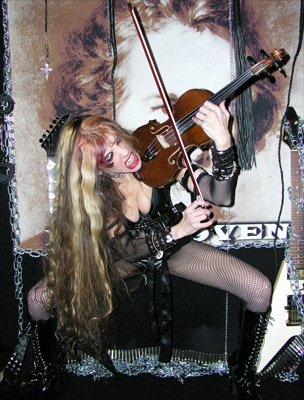 The Great Kat Violin Shredder