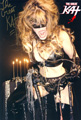 AUTOGRAPHED HOT KAT 8x10 COLOR PHOTO - MIDNIGHT WHIPPING FROM THE GREAT KAT!