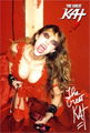 AUTOGRAPHED HOT KAT 8x10 COLOR PHOTO -RED HOT VIOLIN GODDESS!