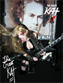 AUTOGRAPHED HOT KAT 8x10 COLOR PHOTO!