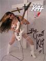 AUTOGRAPHED HOT KAT 8x10 COLOR PHOTO - BRIDAL SHREDDER!