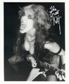 LIMITED EDITION B&W CUTE GODDESS! PERSONALIZED Autographed HOT KAT 8x10 Photo!