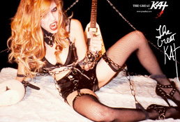 BONDAGE POSTER (Color 18�x24�)! Autographed HOT Great Kat Color 18�x24� Poster! Limited Quantities!