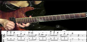 "SHREDDERS! THE GREAT KAT SHREDS PAGANINI'S ""CAPRICE #24"" WITH GUITAR TABLATURE & MUSIC NOTATION!"