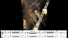 """SHREDDERS! THE GREAT KAT SHREDS PAGANINI'S """"CAPRICE #24"""" WITH GUITAR TABLATURE & MUSIC NOTATION!"""