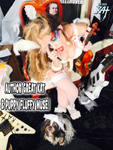 AUTHOR GREAT KAT & PUPPY FLUFFY MUSE!