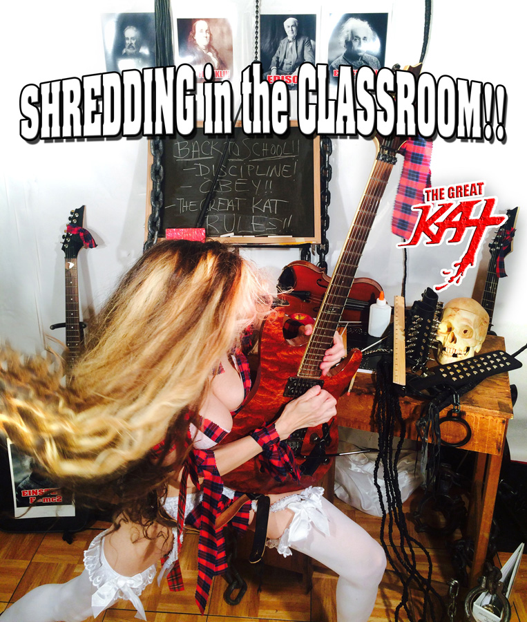 SHREDDING in the CLASSROOM!!