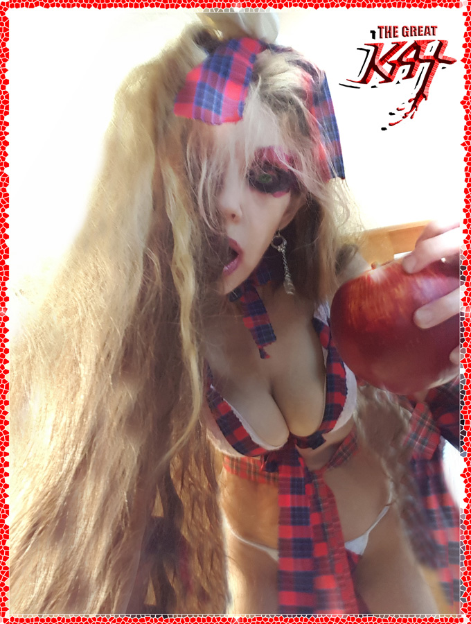 TEACHER'S PET declares THE GREAT KAT IS GOD!