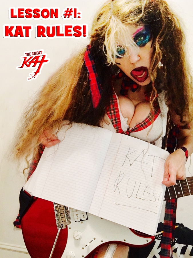 LESSON #1: KAT RULES! BACK TO SCHOOL IN NYC!