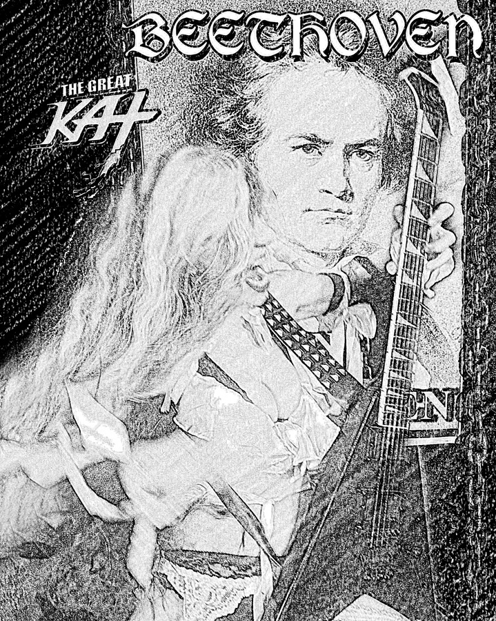 BEETHOVEN & THE GREAT KAT SKETCH! AWESOME!!!