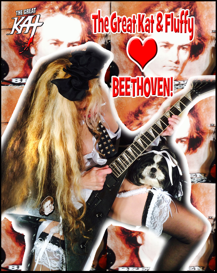 The Great Kat & Fluffy LOVE BEETHOVEN!