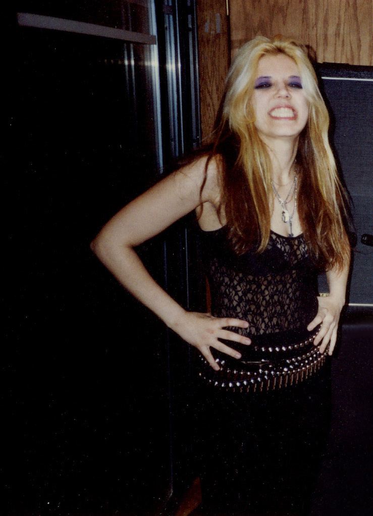"""The Great Kat Guitar Goddess Takes a Break at Recording of """"BEETHOVEN ON SPEED"""" Masterpiece CD!"""