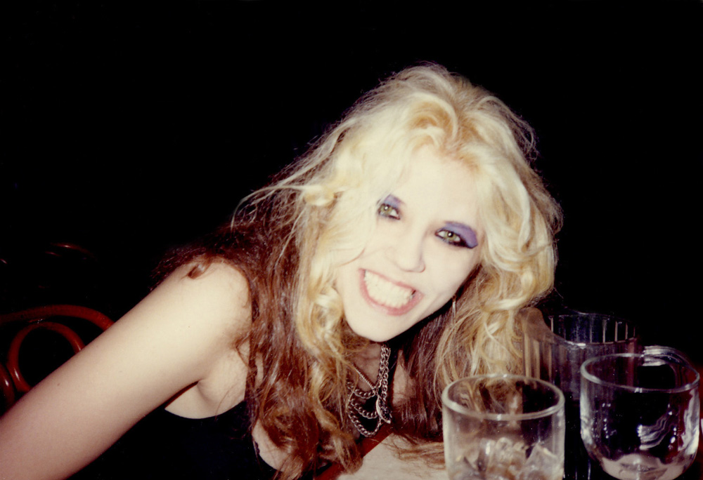 """THE GREAT KAT """"RELAXING"""" at DINNER after """"BEETHOVEN ON SPEED"""" REHEARSAL!"""