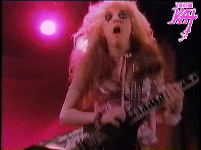 """BEETHOVEN MOSH"" MUSIC VIDEO'S THE GREAT KAT GUITAR GODDESS!!!"