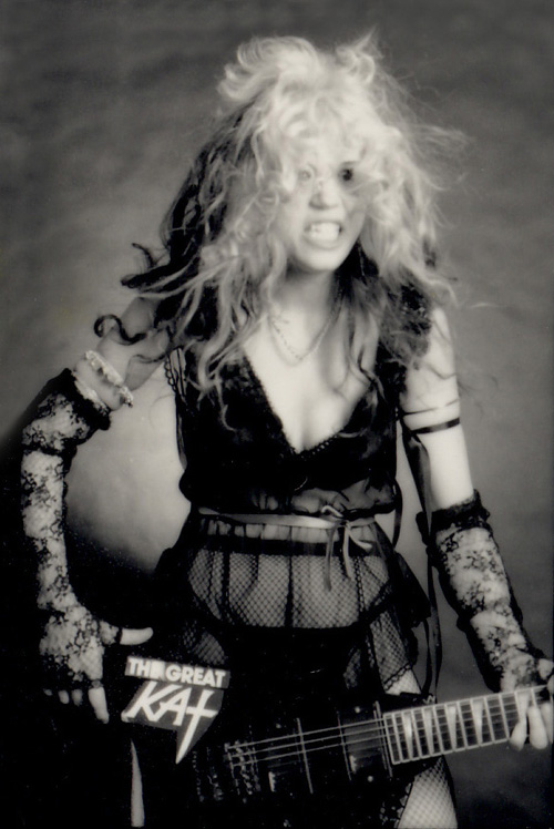 """BEETHOVEN ON SPEED"" ERA'S  BED HEAD GUITAR GODDESS GREAT KAT"