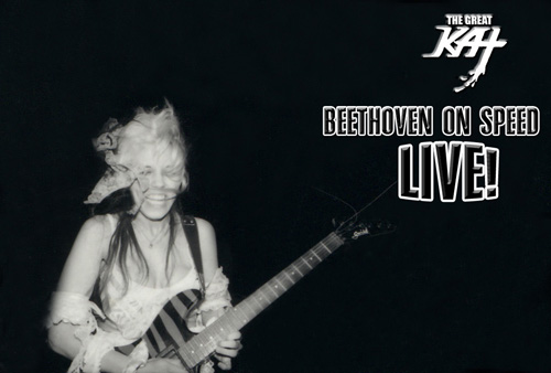 THE GREAT KAT SHREDS BEETHOVEN ON SPEED LIVE!