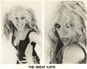 THE GREAT KAT!!!! FAMOUS PUBLICITY SHOT from �BEETHOVEN ON SPEED� ERA!