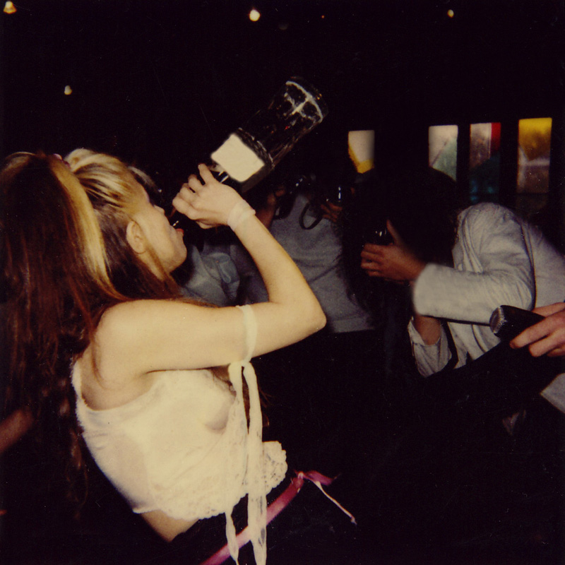 "RARE METAL HISTORY! THE GREAT KAT GUZZLING A SODA at KAT PHOTO OP on ""BEETHOVEN ON SPEED"" PROMOTIONAL TOUR!"