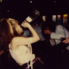 """RARE METAL HISTORY! THE GREAT KAT GUZZLING A SODA at KAT PHOTO OP on """"BEETHOVEN ON SPEED"""" PROMOTIONAL TOUR!"""