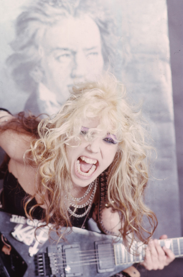 """RARE METAL HISTORY! """"BEETHOVEN ON SPEED"""" ERA'S HAPPY BIRTHDAY BEETHOVEN! from THE GREAT KAT!"""