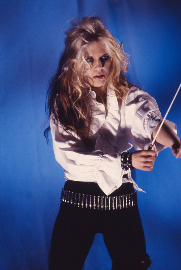 """RARE METAL HISTORY! The Great Kat is READY to CONDUCT BEETHOVEN'S """"5th Symphony"""" on """"BEETHOVEN MOSH"""" Music Video!"""