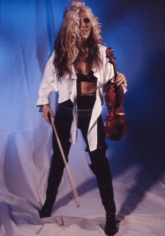 """BEETHOVEN ON SPEED"" ERA's THE GREAT KAT VIOLIN SHREDDER  PHOTO from ""BEETHOVEN MOSH"" Music Video!"